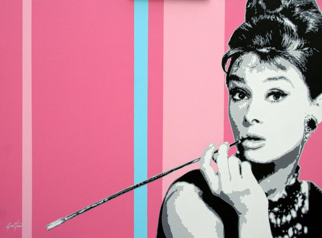 Audrey Hepburn Pop Art | Mike Pop Artist | Flickr