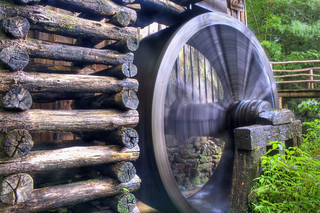 Cades Cove Cable Mill Spinning | by abennett23