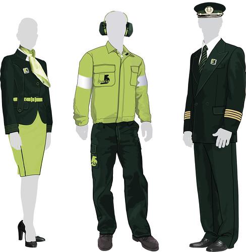 Uniformes del personal de iberia trabajo final de curso for Oficinas de iberia