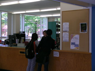 Newcomb Reading Room Service Desk | by Binghamton University Libraries