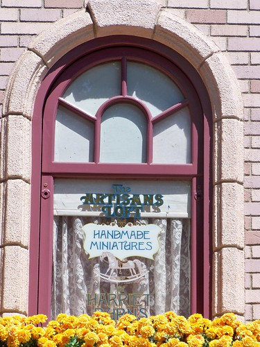 Harriet Burns' window on Main Street | by Castles, Capes & Clones
