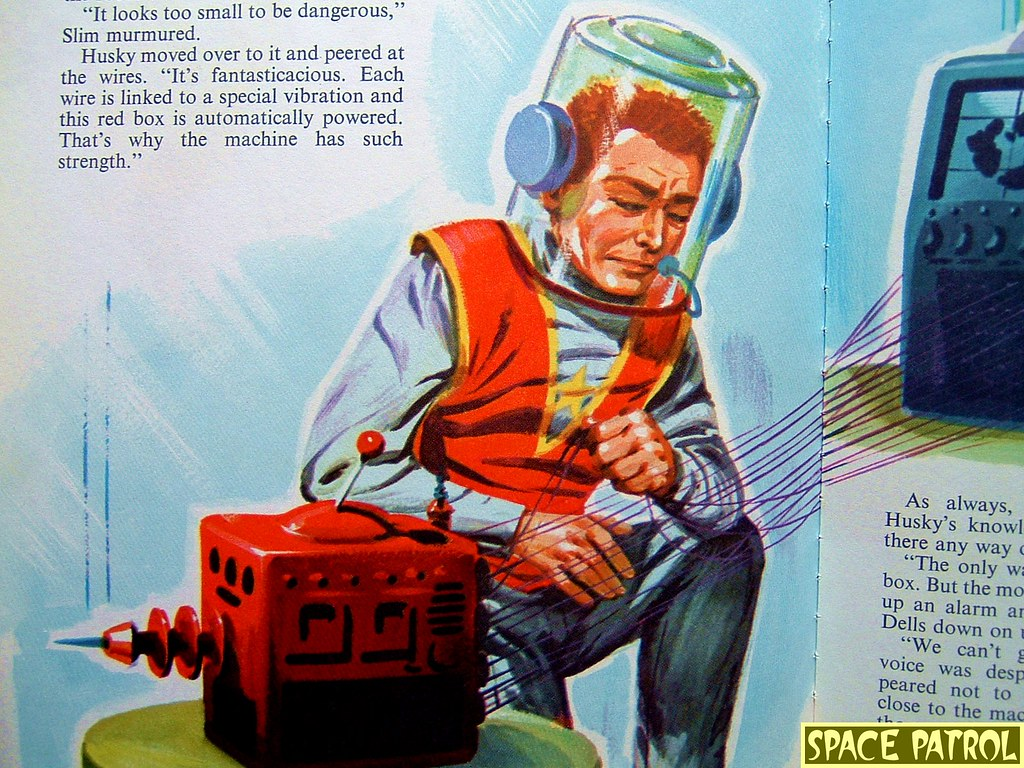 Space Patrol Secret Weapon Story Book