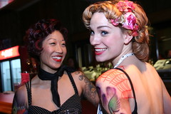 Cute Asian Blonde Makeup Tattoo Retro Punk a Billy Pin Curls IMG_1922 | by stevendepolo