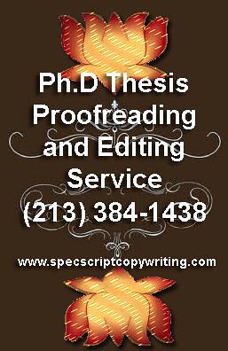 academic developmental editor