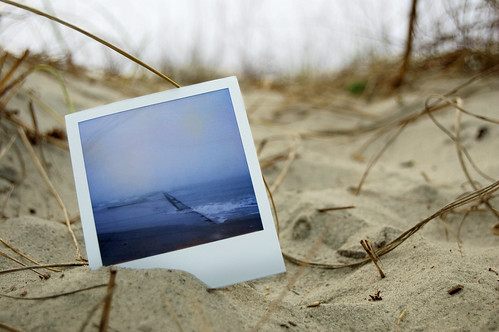Polaroid: Wrightsville Beach Jetty | by analogophile