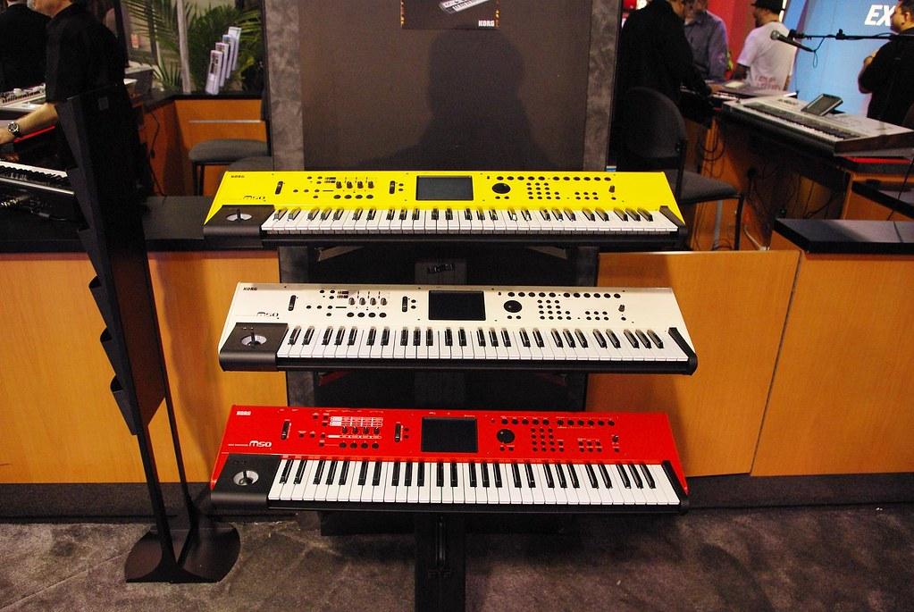 Korg at 2009 NAMM Show | Korg M-50 music workstation | Flickr