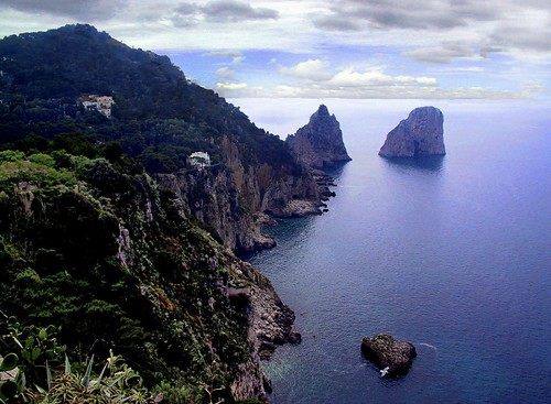 Rocks & Sea on the Isle of Capri | by Raw Light Photography