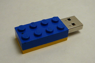 Finished Lego Brick USB Drive | by Oceaneer99