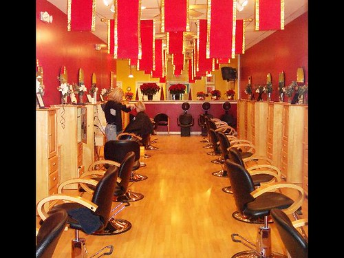 Beauty salon interior design hair salon furniture design for R b salon coimbatore