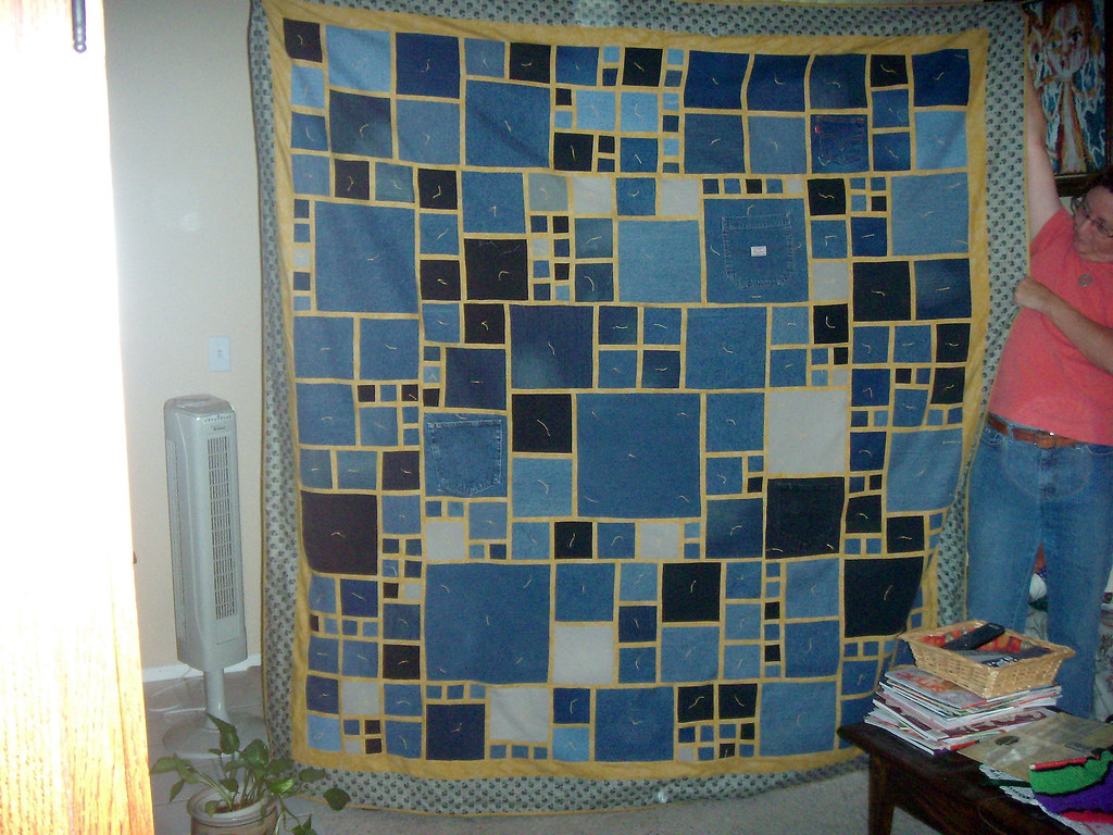 instructables quilt com make to step denim easy how by an
