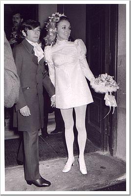 Sharon Tate And Roman Polanski S Wedding 20 01 1968 Flickr
