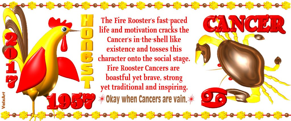 Cancer rooster