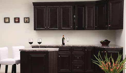 Genial ... Dark Chocolate Cabinets 2 | By {Kim Zay}