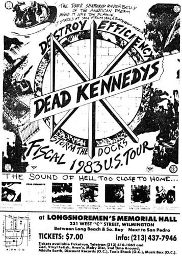 Dead Kennedys Tour  Us