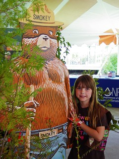 girl scout and smokey the bear | by scoutsmokey