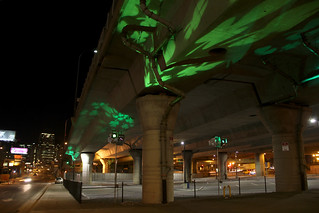 I-93 Viaduct Parking Light Art, March 10, 2014 | by MassDOT