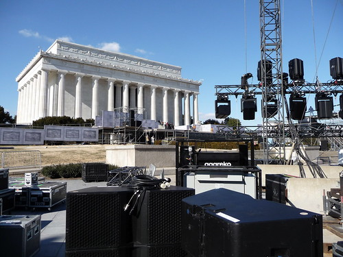 2009 Presidential Inauguration Setup | by Hugh Grew