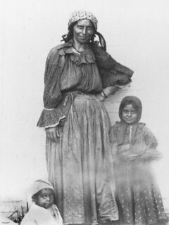 Gypsy woman and two young children | by State Library of Queensland, Australia