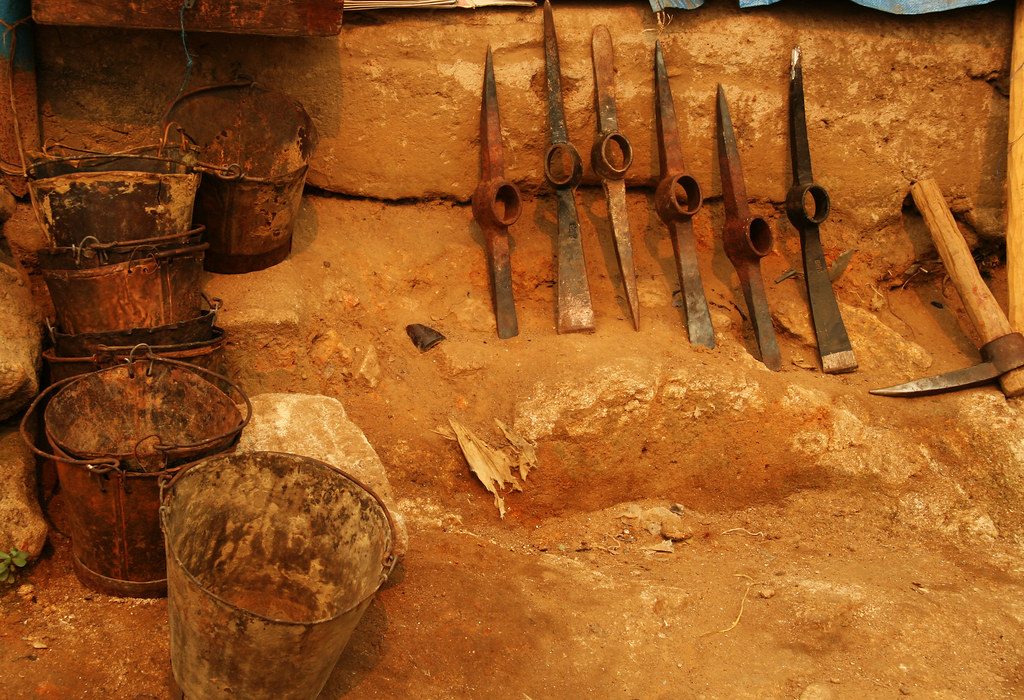 Diamond Mining Tools