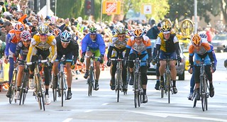 Stage 2 Finish: Michael Rogers, Chris Horner, Lance Armstrong | by Richard Masoner / Cyclelicious