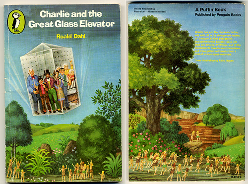 Roald Dahl - Charlie and the Great Glass Elevator | by moonflygirl