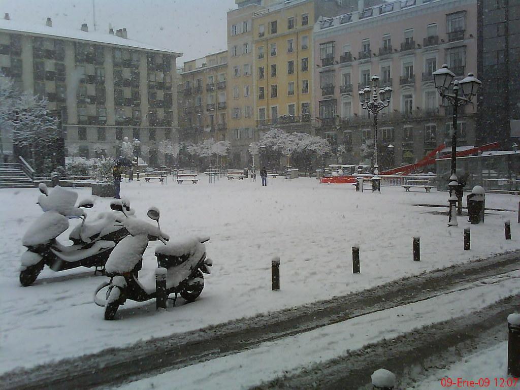 Madrid Oggi Vista Monografica Di Una Delle Città Più
