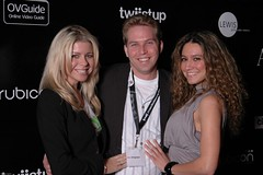 With Jonathan and Cristina at Twiistup 5 | by heathermeeker