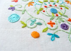 Summer Garden embroidery - new | by Carina » Polka & Bloom