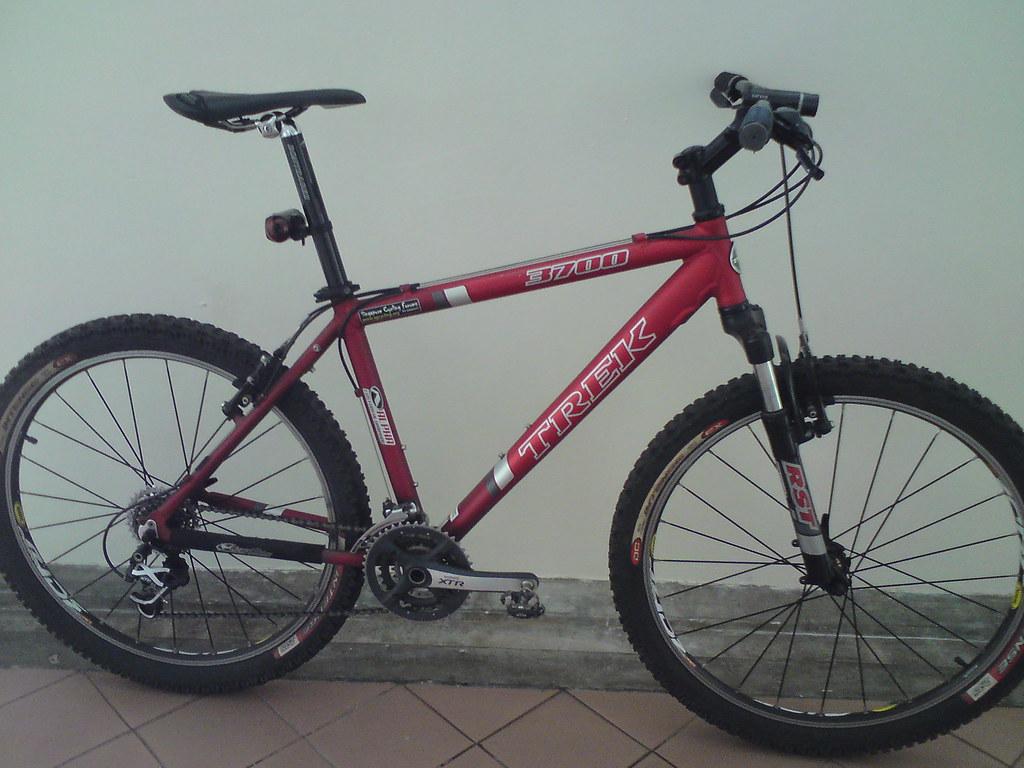 my upgraded 2007 model trek 3700 got this bike as a gift f flickr rh flickr com 2013 Trek 3700 Trek 3700 Mountain Bike