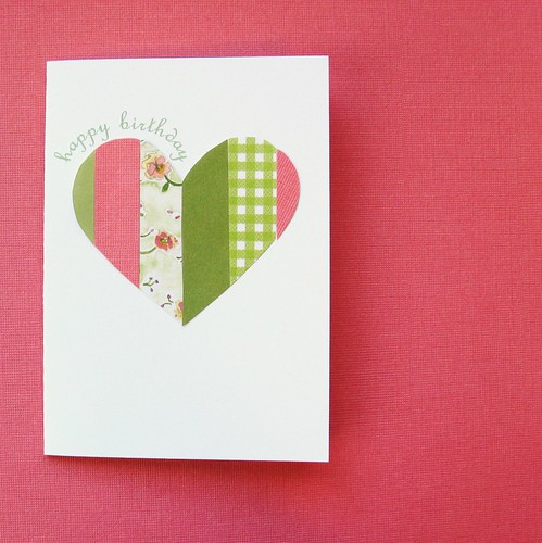 Patchwork Heart - Happy Birthday | by Lucky Duck Designs
