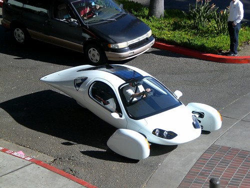 TED2009 Aptera electric vehicle | by Rickshaw Bagworks