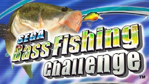 Sega bass fishing challenge sega releases two new arcade for Bass fishing challenge