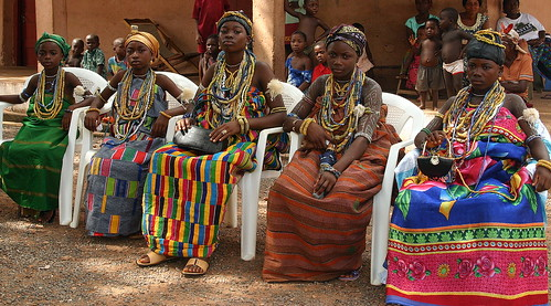 the dipo ceremony of the krobo girls in ghana | by Retlaw Snellac Photography