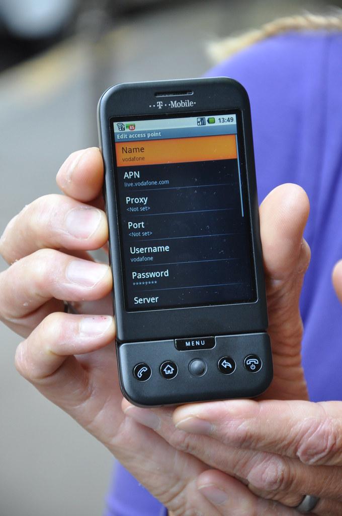 Vodafone Netherlands APN settings for Android | Username: vo