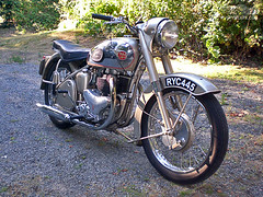 1954 BSA A10 Golden Flash | by rustyheaps