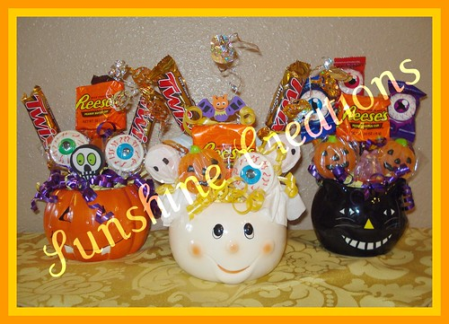 Halloween Candy Bouquets | by SunshineCreations