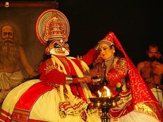 Mandodari and Ravana