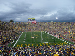 Michigan Stadium, University of Michigan | by Heather Brady