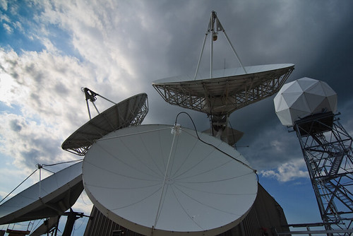 Satellite dishes and receivers | by billrdio