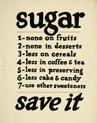 Sugar - Updated Vintage Poster | by 3LambsStudio