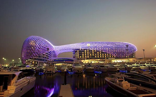 yas hotel yas marina circuit the purple hotel brawnfan. Black Bedroom Furniture Sets. Home Design Ideas