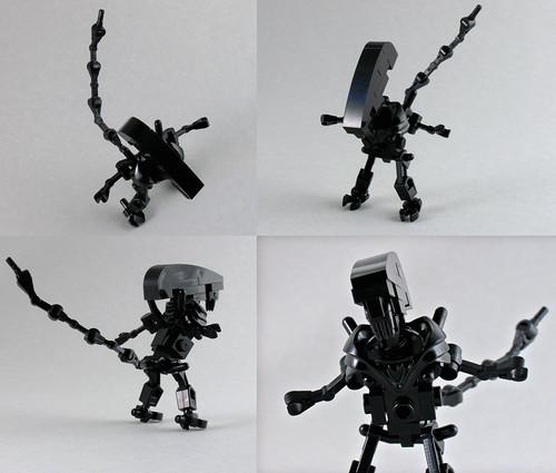 Lego Alienspredator Flickr