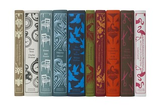 Book spines of the second set of cloth-bound classics | by Penguin Books UK