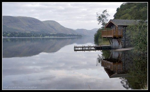BOATHOUSE, ULLSWATER, LAKE DISTRICT, ENGLAND | by IMAGES OF WALES.... (TIMWOOD)