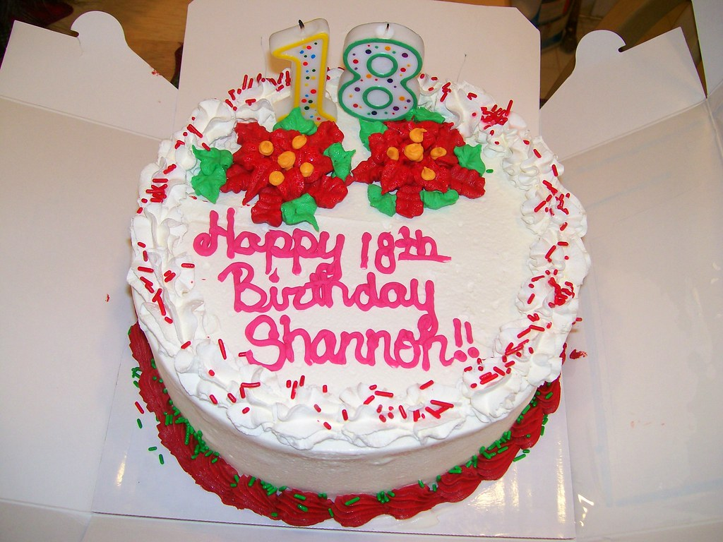 Christmas Birthday Cake Granddaughter Shannons Christmas Flickr