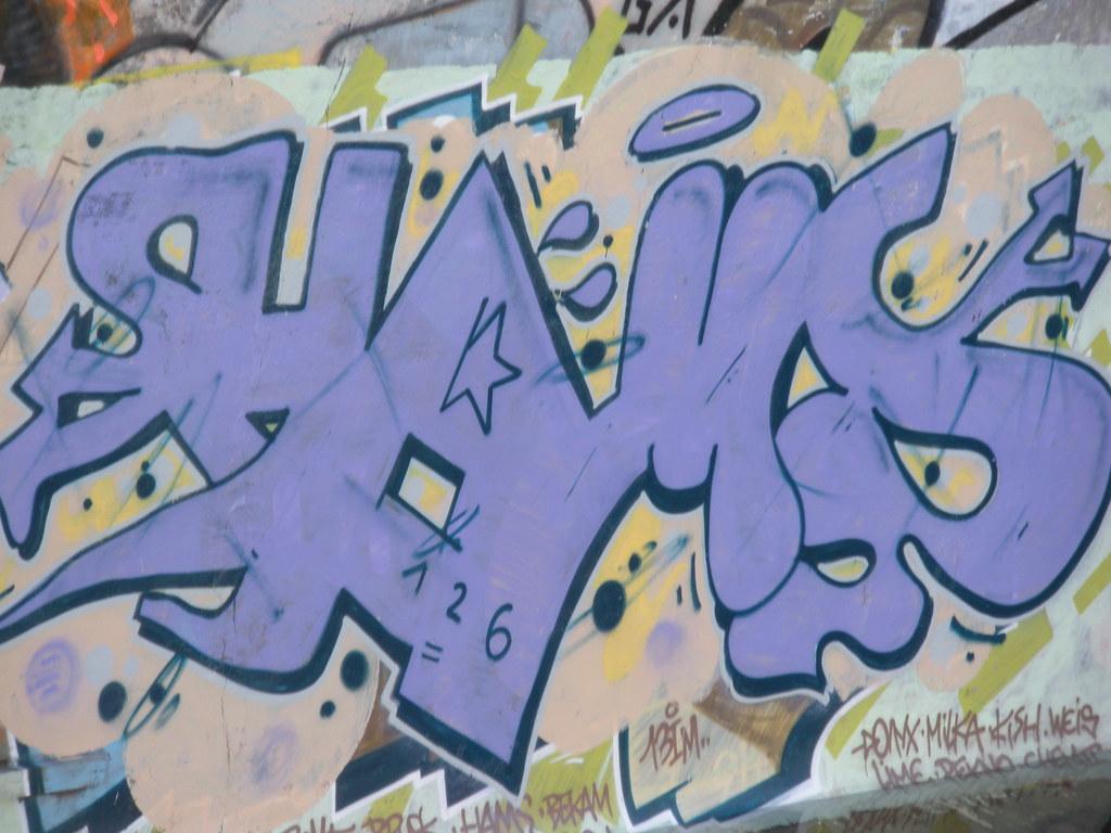 Graffiti Of La Friche La Belle De Mai By Yahya Mekkawi
