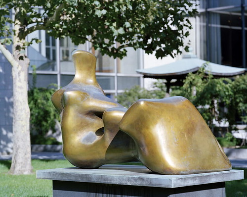 Henry Moore Hand Painting