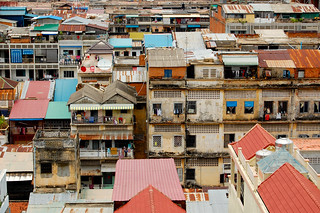 over the roofs of Phnom Penh | by marin.tomic