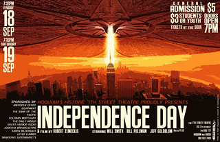 Poster design for Independence Day movie | by ralphhogaboom