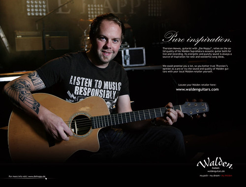 Pure Inspiration -- Thorsten Mewes | by WaldenGuitars